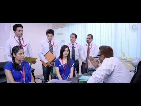 A Morning Sales Huddle in Bank  | The Dream Job  (2017) Hindi Movie | Film Based on Bankers Life