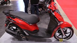 9. 2017 Piaggio Liberty Scooter - Walkaround - 2017 Toronto Motorcycle Show