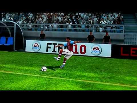Fifa 10 - Luke Young falla!