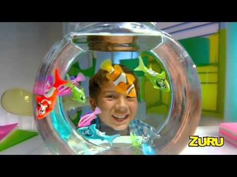 """Интерактивная игрушка RoboFish """"РобоРыбка - Рыба-Акула"""", голубая"""