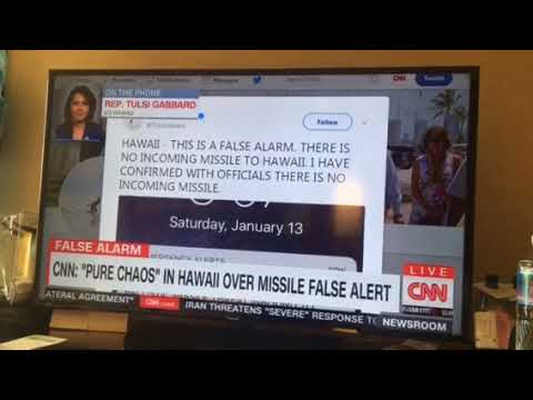 Cnn news while in Hawaii