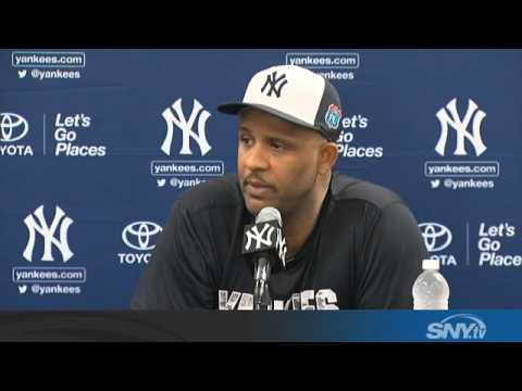 Video: CC Sabathia speaks about rehab at Yankees camp