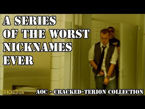 A Series of the Worst Nicknames Ever | Agents of Cracked | Episode 2