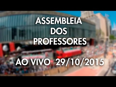 Assembleia dos Professores 29/10/12 do MASP