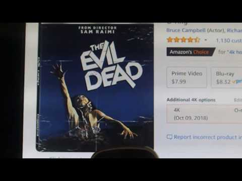 EVIL DEAD IS COMING TO 4K