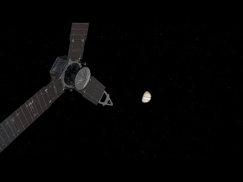 Juno Approaching Jupiter Movie