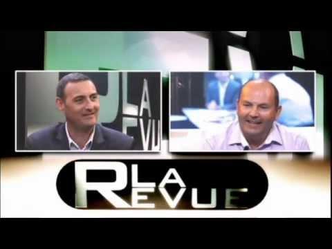 L'auteur Pascal Renaudineau à l'émission télévisée La Revue