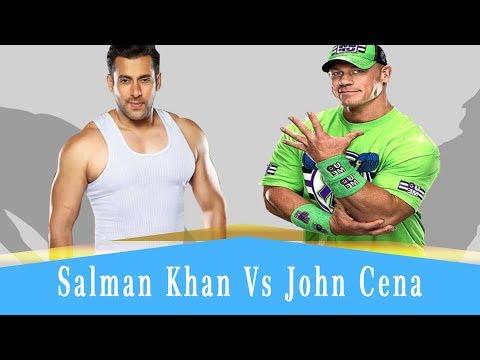 Wwe Salman Khan vs John Cena