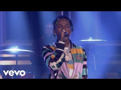 Rich The Kid - Plug Walk (Live On The Tonight Show Starring Jimmy Fallon, US / 2018)