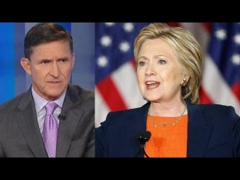 Flynn: Clinton delivered Trump attack, not foreign policy
