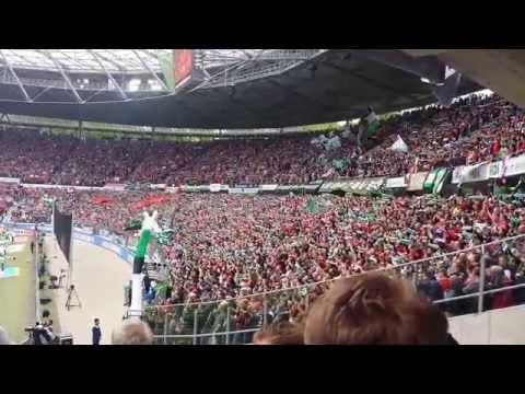 Hannover 96 - Werder Bremen 1:1 (1:0), Bundesliga 2014/15, 96 Alte Liebe (видео)