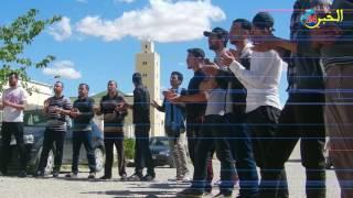 عشرات المواطنين يحتجون أمام مقر الدائرة لرفض إعادة فتح مطرح النفايات القديم تحت أية مسميات