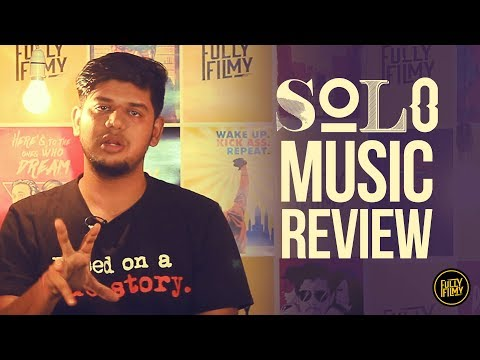 Solo Music Review | Dulquer Salmaan | VJ Abishek | Fully Filmy