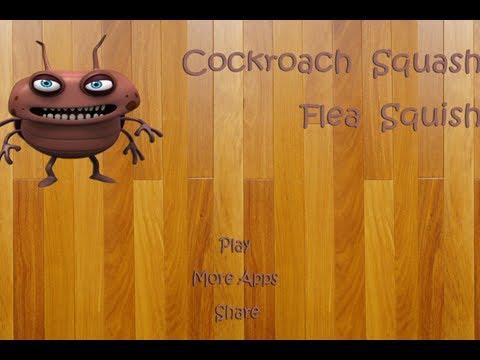 Video of Cockroach Squash Flea Squish