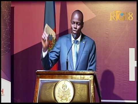 Le Président de la République, Jovenel Moïse a procédé à l'ouverture du Sommet sur la technologie