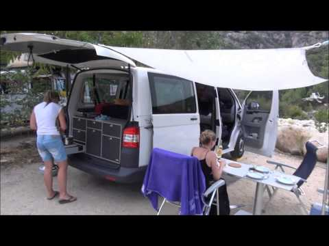 VanEssa mobilcamping - Mit dem T5 Transporter in Korsika