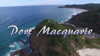 Port Macquarie Australia  city pictures gallery : Port Macquarie I 4K I Aerial cinematography