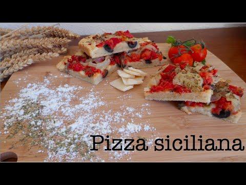 Pizza siciliana (Sfincione…