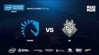IEM Oakland - Team Liquid vs G2 eSports - de_nuke - [flife]