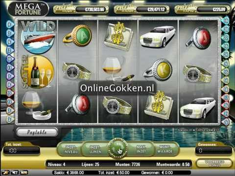 Mega Fortune Video Slot op Onlinegokken.nl