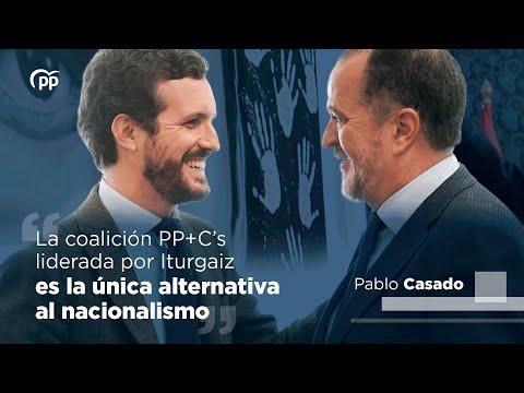 La coalición PP+Cs liderada por Iturgaiz es la úni...