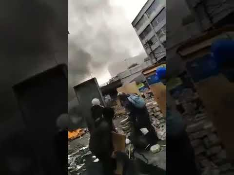 Imágenes Sensibles: Momento en que manifestante en Ecuador recibe un disparo en la cabeza
