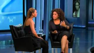 Beyonce' on Oprah Show  Part 2 of 3