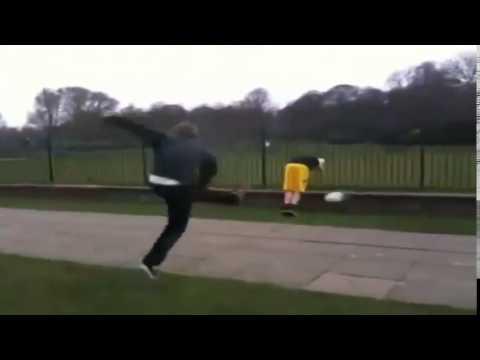 Funny Fail- Ball Owns Kid (видео)