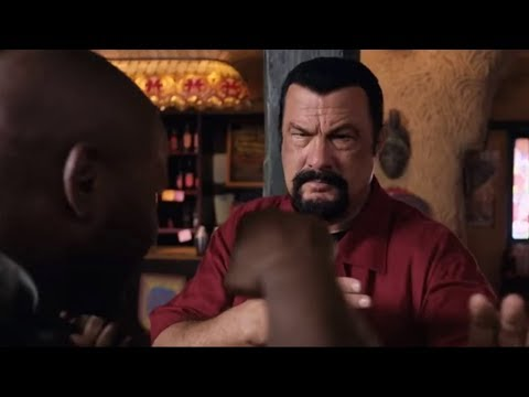 Steven Seagal vs Mike Tyson, FIGHT SCENE (China Salesman)