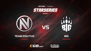 EnVyUs vs BIG, map 3 cache, SL i-League StarSeries Season 3 Europe Qualifier