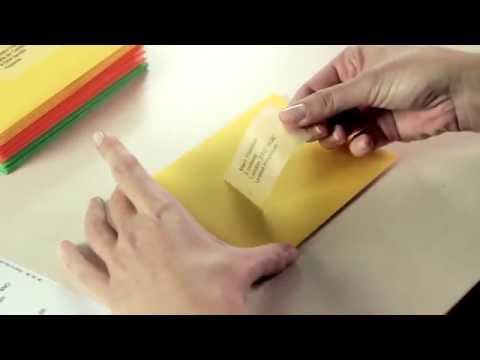 Адресные этикетки