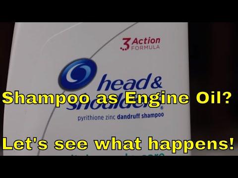 Shampoota moottoriöljyn tilalle – Miten käy koneen?