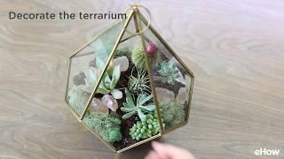 DIY your own succulent terrarium with this easy-to-follow tutorial! http://www.ehow.com/how_4885344_build-terrarium-succulent-plants.html