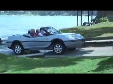 ***El coche acuatico barco coche Real