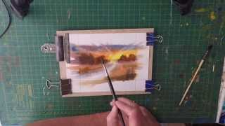 Paint Your Own Watercolour Greeting Cards For Selling
