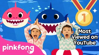 Video Baby Shark Dance | Sing and Dance! | Animal Songs | PINKFONG Songs for Children MP3, 3GP, MP4, WEBM, AVI, FLV Agustus 2018