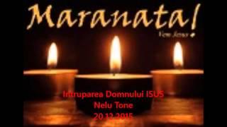 Intruparea Domnului ISUS- Nelu Tone-20.12.2015