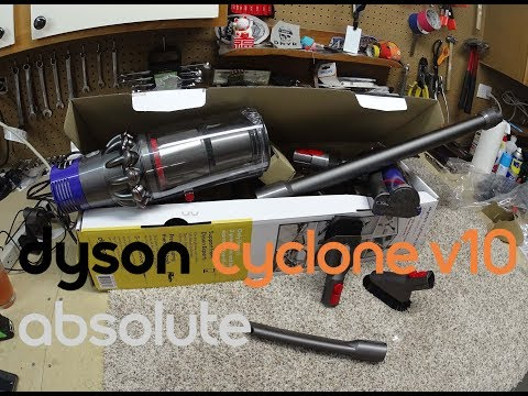 Dyson Animal V10 SV12  Cordless vacuum  Unboxing NonPaid Review!