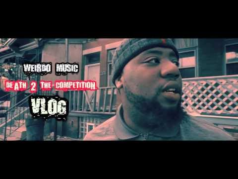 VLOG # 1 (Death to The Competition) Weirdo Music/RcDaProducer Ft. Stax McFly and Mr. Cunningham