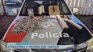 Apreensões de drogas movimentam a polícia em Paulistânia e Botucatu