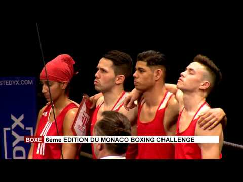 Sixième édition du Monaco Boxing Challenge