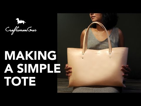 Making Tote Bag : #LeatherAddict EP20