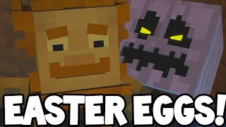 """Minecraft Story Mode - Episode 6 - NEW EASTER EGGS! """"A Portal To Mystery"""""""