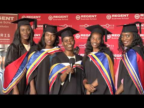 REGENT Business School Graduation 2018 Testimonials