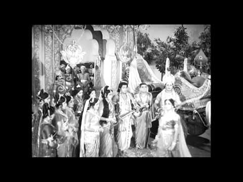 Sri Krishna Tulabharam Full Length Movie Parts:01/10 |NTR,Anjali,Jamuna