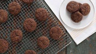 Cinnamon-Spiced Chocolate Cookies- Everyday Food with Sarah Carey by Everyday Food