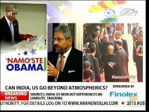 Sanjay Puri (USINPAC Chairman) on Obama India Visit - NDTV 24x7