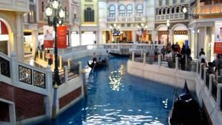 Macau - Venetian Gondola Ride