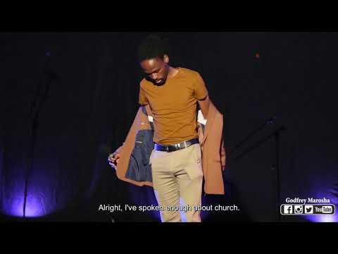 Godfrey Marosha - I've Been Ugly Before (South African Comedian)