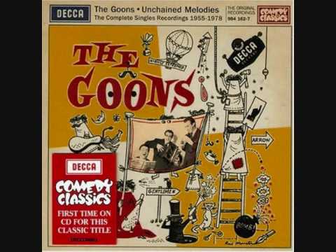 Tekst piosenki The Goons and Peter Sellers - Unchained Melody po polsku